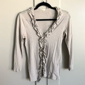 J.Crew light cotton cardigan